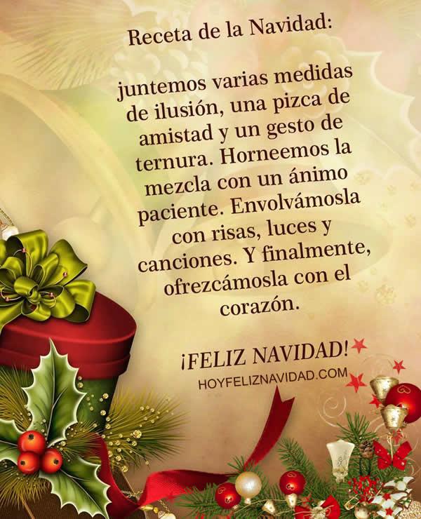 Imagenes con frases de navidad - Frases de felicitaciones de navidad ...