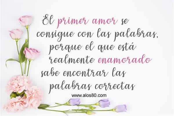 Imagenes Lindas Con Frases Del Primer Amor Alos80com