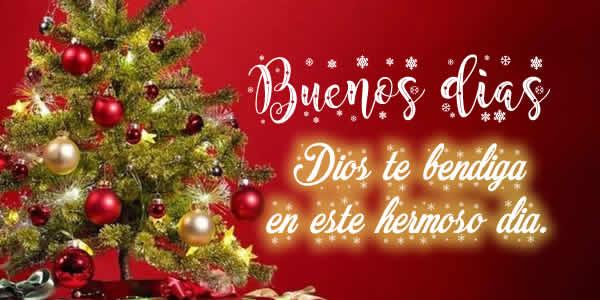 buenos dias navidad