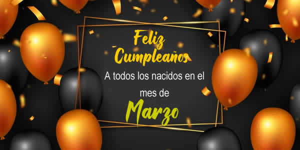 marzo cumpleaños